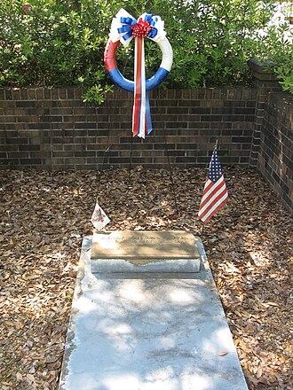 Henry Ossian Flipper - Flipper's grave in Thomasville, Georgia