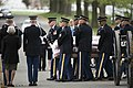 Graveside service for U.S. Army Air Forces 2nd Lt. Marvin B. Rothman at Arlington National Cemetery (34282452765).jpg