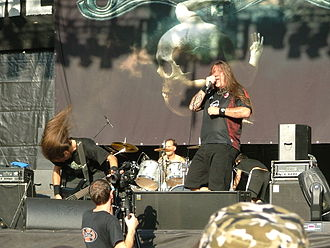 Graveworm discography - Graveworm performing in Tolmin.