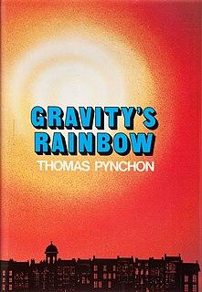 <i>Gravitys Rainbow</i> Novel by Thomas Pynchon