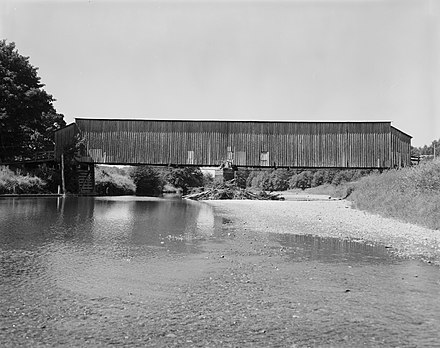 Grays River Covered Bridge, in Wahkiakum County Grays River Covered Bridge.jpg