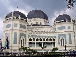 City in North Sumatra, Indonesia