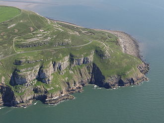 Godred Crovan - Great Orme, where Grithfridus is said to have made landfall before battling and killing Robert de Tilleul.