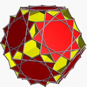 Star polyhedron - Image: Great dodecicosahedron