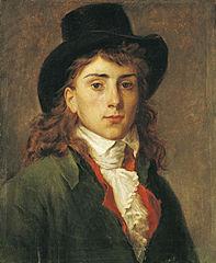 Portrait d'Antoine-Jean Gros à l'âge de vingt ans