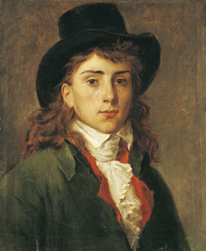 Gros Portrait à l'âge de vingt ans (RO 109)