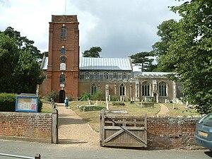 Grundisburgh - Image: Grundisburgh church
