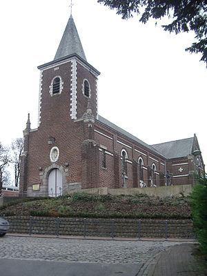Gruson - The church at Gruson