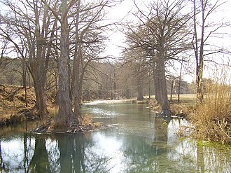 Guadalupe River (Texas) - Image: Guadalupe River Texas