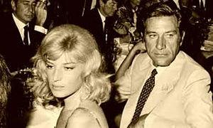 Gualtiero Jacopetti - Jacopetti and Monica Vitti in the 1960s.