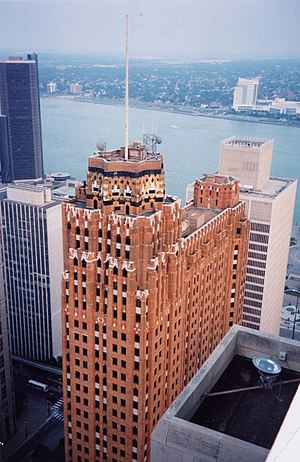 Wayne County, Michigan - The historic Guardian Building in Detroit is the Wayne County headquarters.