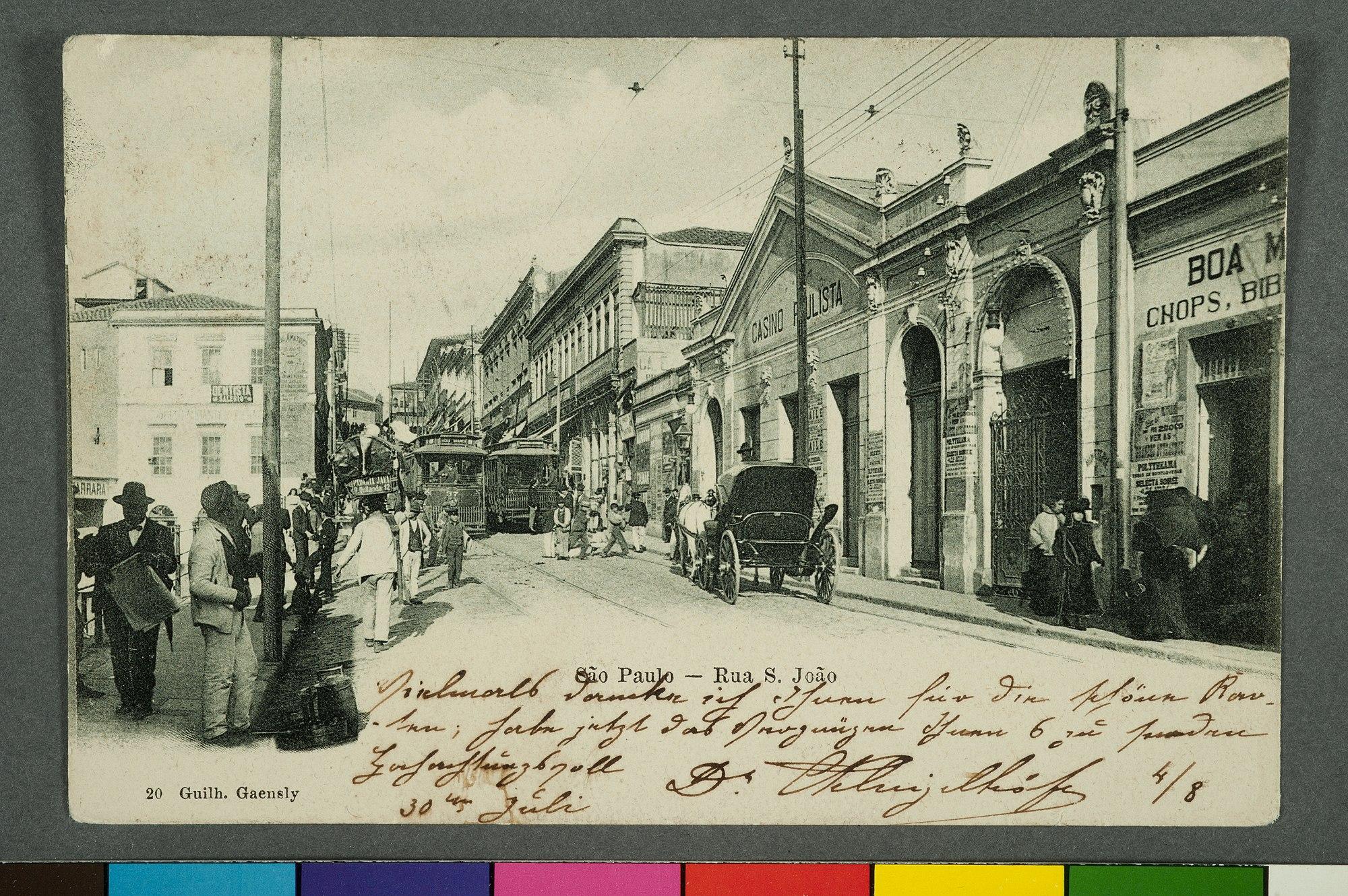 São Paulo - Rua S. João