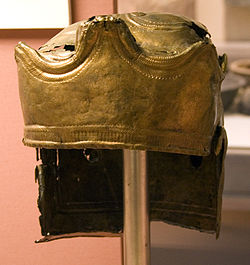 Guisborough Helmet front left