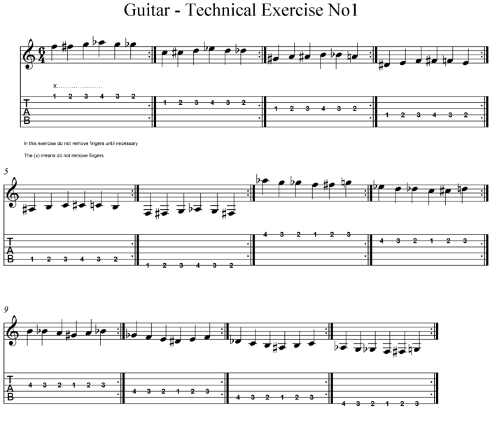 Guitar - Technical Exercise No1.png