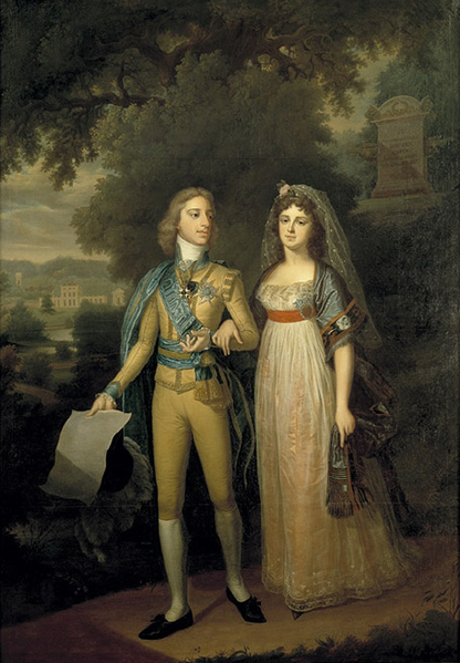 Plik:Gustav IV Adolf of Sweden and Frederica of Baden.png