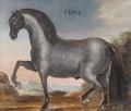 Hästporträtt från cirka 1650 - Skoklosters slott - 95255.tif