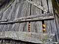 Hórreo con maiz en Portas (5947841472).jpg