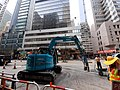 HK 上環 Sheung Wan 德輔道中 Des Voeux Road Central building team workers October 2019 SS2 04.jpg