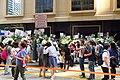HK 中環 Central 雪廠街 Ice House Street 張國榮 Leslie Cheung 紀念 memorial party April 2018 IX2 visitors 01.jpg