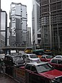 HK 中環 Central Bank of China Building view 皇后大道中 Queen's Road Central Lippo Centre Traffic Jam June-2010.JPG