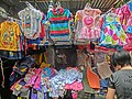 HK 灣仔街市 Wan Chai Market 太原街 Tai Yuen Street stall children clothing Apr-2014.JPG