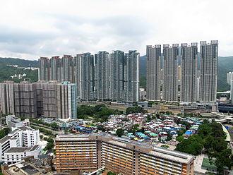 Private housing estates in Sha Tin District - Festival City