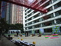 HK SW Hollywood Road Police HQ Detour 2009 Courtyard west beach.JPG
