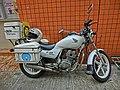 HK Sai Ying Pun 西環笫三街 Third Street Honda Motorcycle 中華煤氣 Towngas Mar-2013.JPG