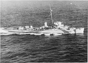 HMS Rutherford (K558) - Image: HMS Rutherford FL18469