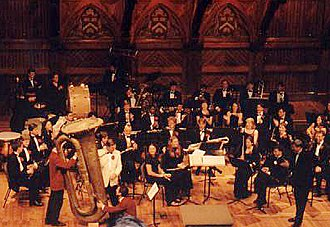 Subcontrabass tuba - The Harvard University Band's BBBb Besson Tuba