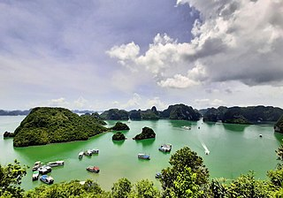 Hạ Long Bay bay in Vietnam