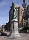 Haarlem Grote Markt Laurens Janszoon Coster 001.JPG