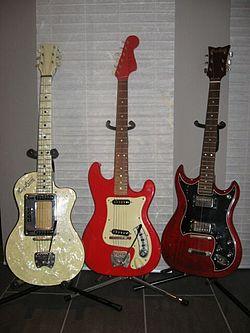 A Minor Guitar >> Hagström - Wikipedia