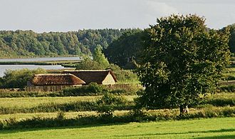 Hedeby - Two reconstructed houses at Hedeby