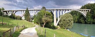 1913 in architecture - Image: Halenbrücke