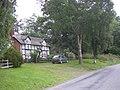 Half timbered house beside NCR 81 - geograph.org.uk - 941799.jpg