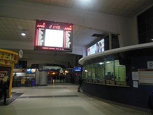 Federico Lacroze railway station - Image: Hall estación Lacroze