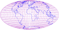 Hammer projection of world with grid.png