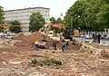 Hannover Adolfstrasse Ausgrabungen Bagger.jpg