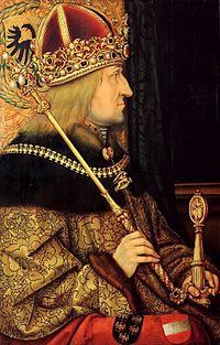 Hans Burgkmair d. Ä. (zugeschr.) - Bildnis Kaiser Friedrich III.jpg