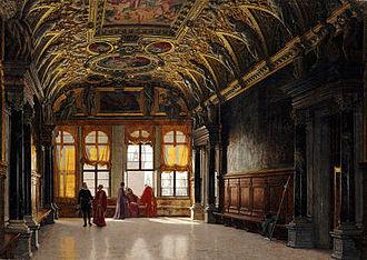 Heinrich Hansen (painter) - Image: Hansen venice