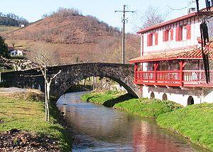 Bonloc - The bridge of Bonloc, over the Aran river
