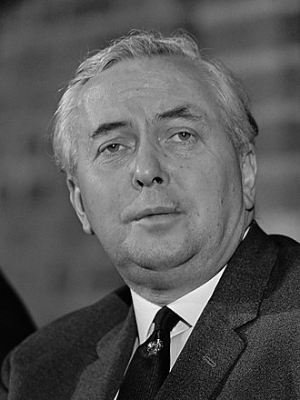 1973 United Kingdom local elections - Image: Harold Wilson (1967)