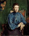 Harriet Backer - Fru Vedastine Aubert, f. Moe - Nasjonalmuseet - NG.M.03107.jpg