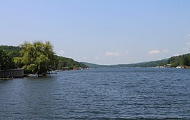 Harveys Lake from the northeast.JPG