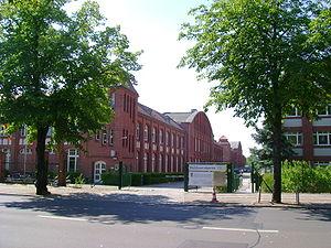 Deutsche Dienststelle (WASt) - Main entrance to the Deutsche Dienststelle (WASt) in Berlin