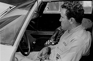 Paul Hawkins (racing driver) - Hawkins in 1966