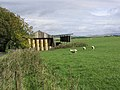 Hay Shed on Mervinslaw Estate - geograph.org.uk - 255117.jpg