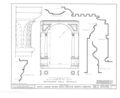 Hayes Manor, East Water Street vicinity, Edenton, Chowan County, NC HABS NC,21-EDET.V,1- (sheet 13 of 17).png