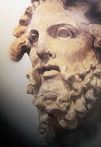 Head of a Titan, National Archaeological Museum of Athens